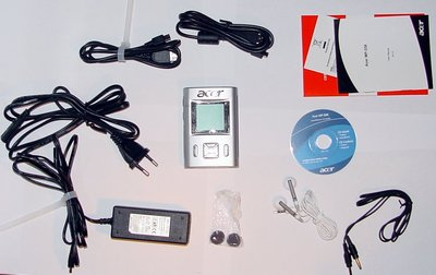 Contents of the package